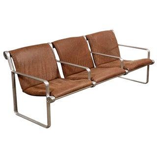 Bruce Hannah & Andrew Morrison for Knoll 3-Seat Sling Sofa For Sale