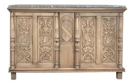 Image of Dove Gray Credenzas and Sideboards