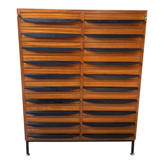 1950s Italian Mid Century Modern Chest of Drawers For Sale