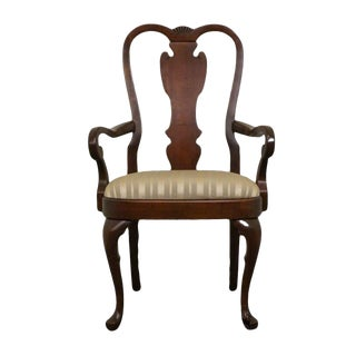 Late 20th Century Vintage Pennsylvania House Queen Anne Arm Chair For Sale