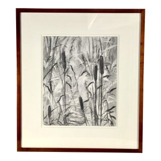 Original Pencil Drawing by Mary B Lynch For Sale