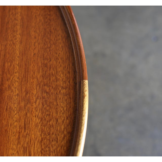 Large Egyptian Table by Mogens Lassen for A.J. Iversen Circa 1955 For Sale In Los Angeles - Image 6 of 13