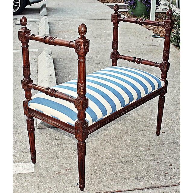 Louis XVI Style Bench - Image 4 of 7