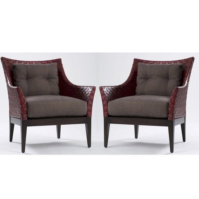 Kriess Safari Lounge Chairs - A Pair - Image 2 of 7