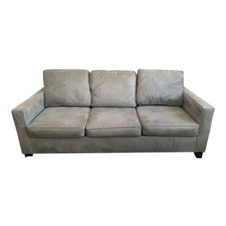 Pottery Barn Couch Cameron Square Arm Sofa For Sale