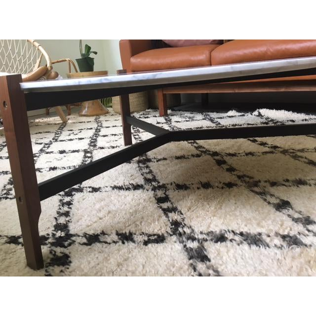 Blu Dot Free Range Marble Coffee Table - Image 6 of 6