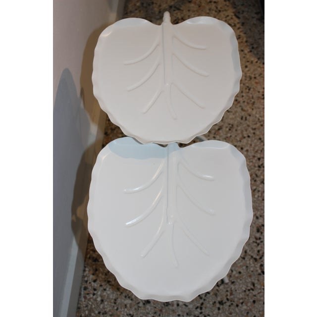 Salterini Salterini Nesting Lily Pad Drinks Tables Indoor Outdoor Patio - a Pair For Sale - Image 4 of 12