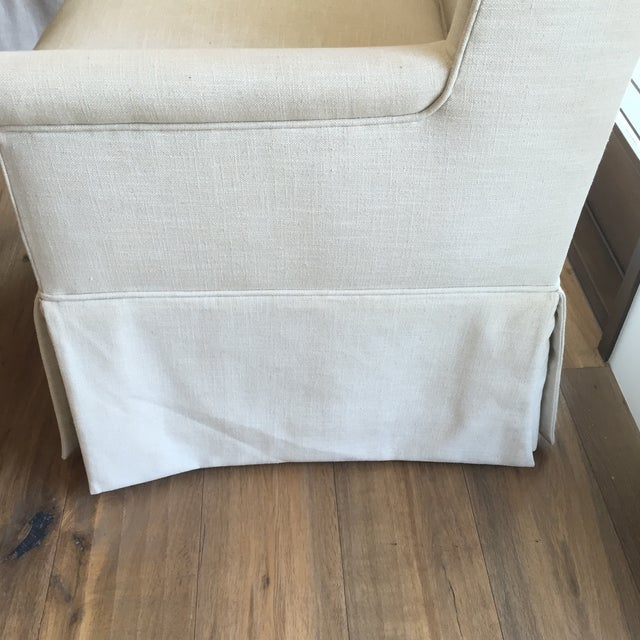 Linen Dining Chairs - Set of 7 - Image 8 of 11