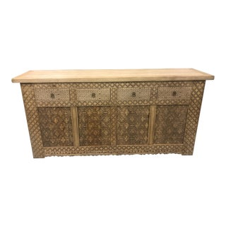 20th Century Moroccan Style Sideboard For Sale