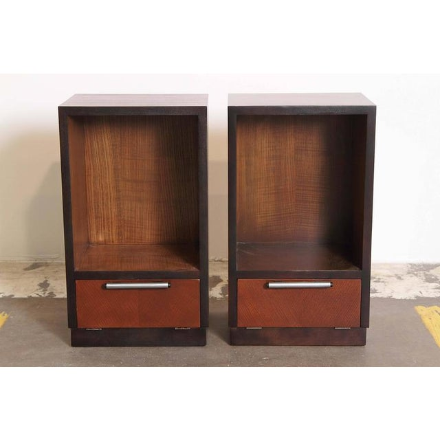 Gilbert Rohde Herman Miller Art Deco 1933 World's Fair Nightstands Matched Pair. End tables. Night Stands. Another Classic...