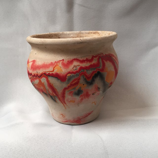 Nemadji Red Pottery Vase - Image 8 of 9