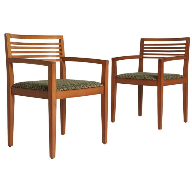 Ricchio Knoll Armchairs - Pair - Image 1 of 7