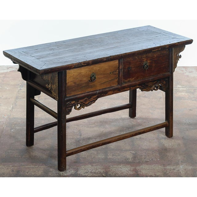 Chinese Antique wooden Altar table with drawers in excellent condition. Please check all the photos. You may click on it...
