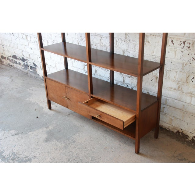 Paul McCobb Planner Group Mid-Century Wall Unit or Room Divider For Sale - Image 10 of 11