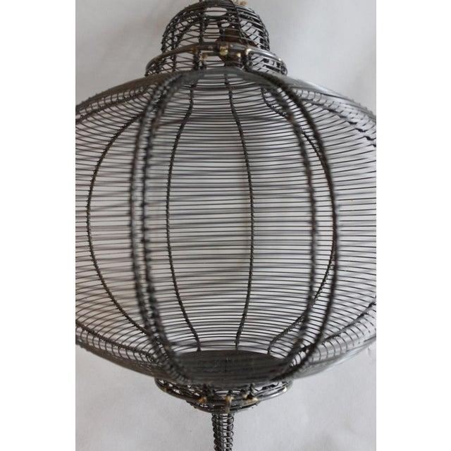 West Elm Circular Hanging Lantern - Image 6 of 8
