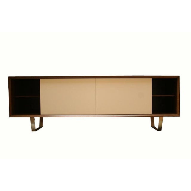 Lacquer Customizable Yoon Sliding Door Console For Sale - Image 7 of 10