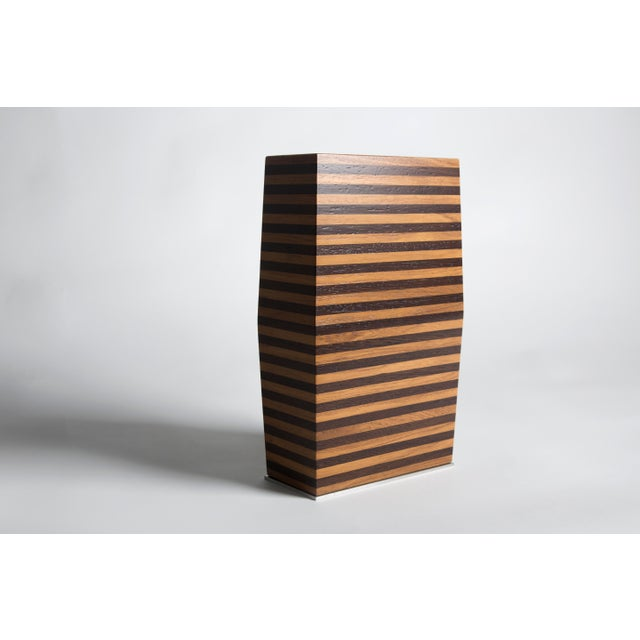 2020s Pitsilkas Striped Vase For Sale - Image 5 of 5