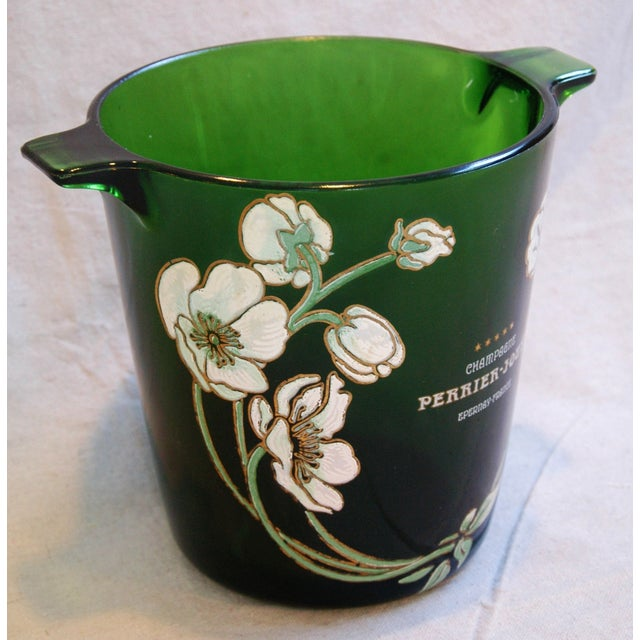 Perrier-Jouët Champagne Chiller Bucket For Sale - Image 4 of 8
