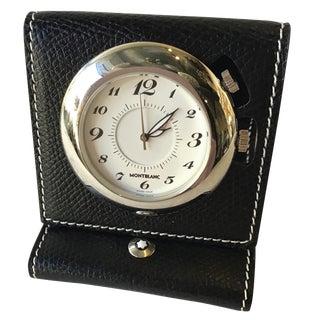 Montblanc Travel Alarm Clock 7056 For Sale