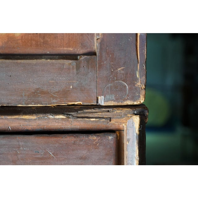 Brown 19th Century Welsh Train Station Cabinet For Sale - Image 8 of 10