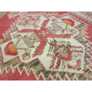 Vintage Turkish Red Runner-1'11'x3'5' Preview