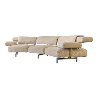 Il Loft Italian Post Modern Sofa by Giorgio Saporiti For Sale