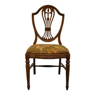 Lammert's Furniture Federal Style Mahogany Shield Back Side Chair For Sale