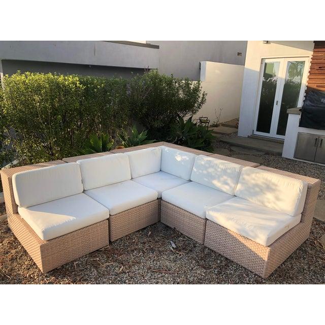 Janus Et Cie Dedon Sectional Sofa For Sale - Image 13 of 13