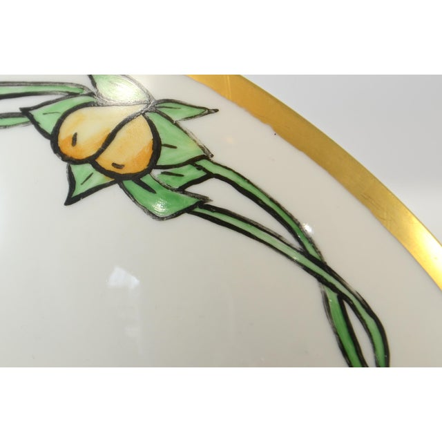 Haviland & Co. Haviland Hand Painted Bowl For Sale - Image 4 of 7