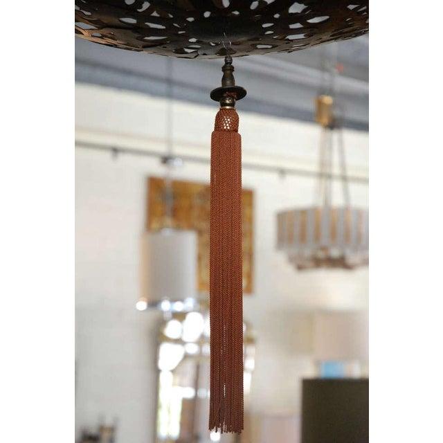Large Japanese Lantern Fixture - Image 6 of 8