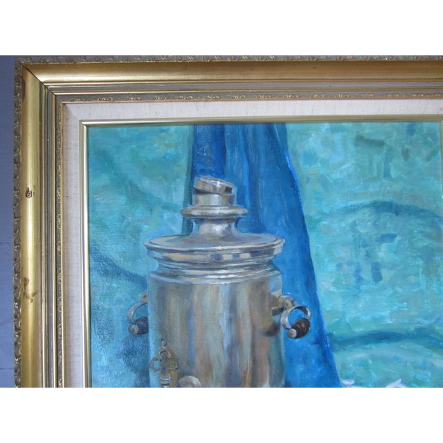 'Tea Time in the Ussr' Original Painting - Image 3 of 8