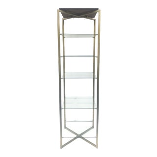 Tall Vintage Display Shelf For Sale
