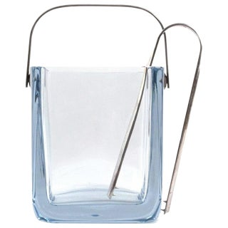 Vintage Cartier Crystal Ice Bucket, 1960s For Sale