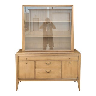 Vintage 1960's Century Furniture China Cabinet For Sale