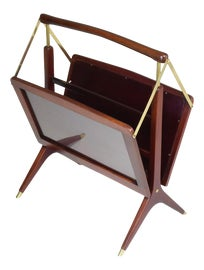 Image of Brass Magazine Racks