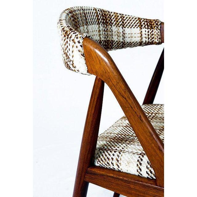 Set Of 6 Rosewood Kai Kristiansen Dining Chairs - Image 8 of 10