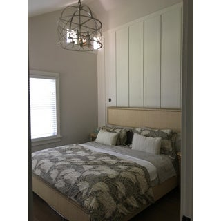 William Sonoma King Bed Frame / King Headboard/ Foot-Board - Raffia-New Preview
