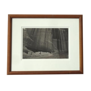1980s Contemporary Photography of Canyon De Chelly White House Ruins by S Brian For Sale