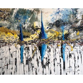 """Original Abstract """"Prophesy"""" Painting by Michael Brady For Sale"""
