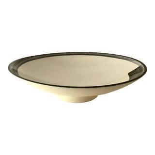 1980s Marek Cecula Contemporary Porcelain Bowl For Sale