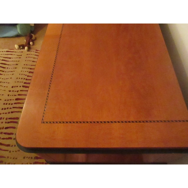National Mt. Airy Tiger Maple Nightstand - Image 3 of 4