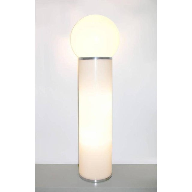 Italian modern design floor lamp by LOM, a lighting company in Monza (near Milan), closed in the 1990s, distinguished by...