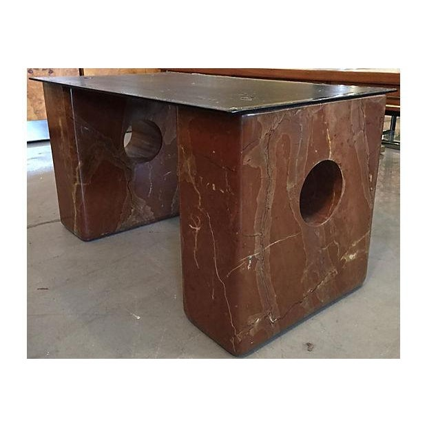 Large Square Stone Coffee Table: Large Rectangular Marble Coffee Table