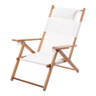 Tommy Outdoor Chair - Antique White For Sale