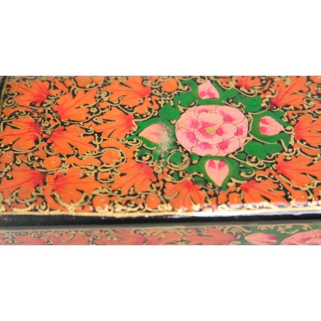 Hand Painted Kashmiri Pencil Box II - Image 3 of 3