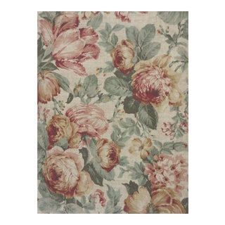 Cottage Rose Heavy Weight 5th Ave. Fabric - 10 Yards