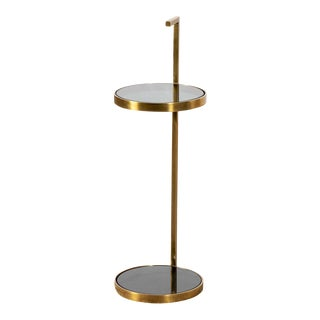 Modern Silas Two-Tier Drinks Table For Sale