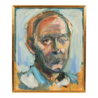 Mogens Hoff Contemporary Portrait of a Man For Sale