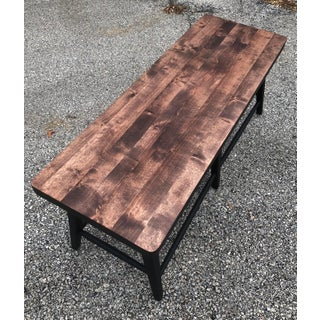 Rustic Restoration Hardware Style Bench Preview