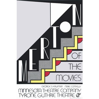 Roy Lichtenstein, Merton of the Movies, 1968 Foil Print For Sale